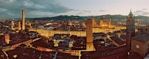 veduta di bologna dall'alto -vista dalla torre prendiparte